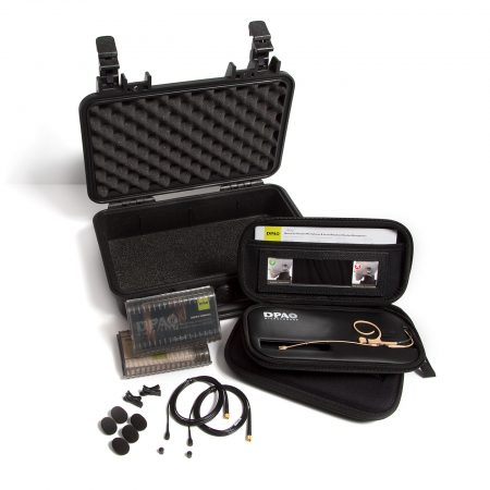 DPA Bodyworn 4-Kit Headset and Lavalier kit