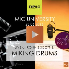 Miking Drums at Ronnie Scott's Videos