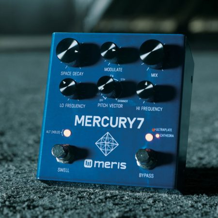 Meris Mercury7 Reverb Pedal - Out of this world reverb