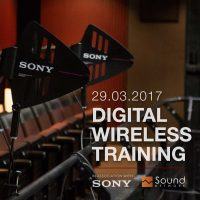 Sony Wireless Training March 2017