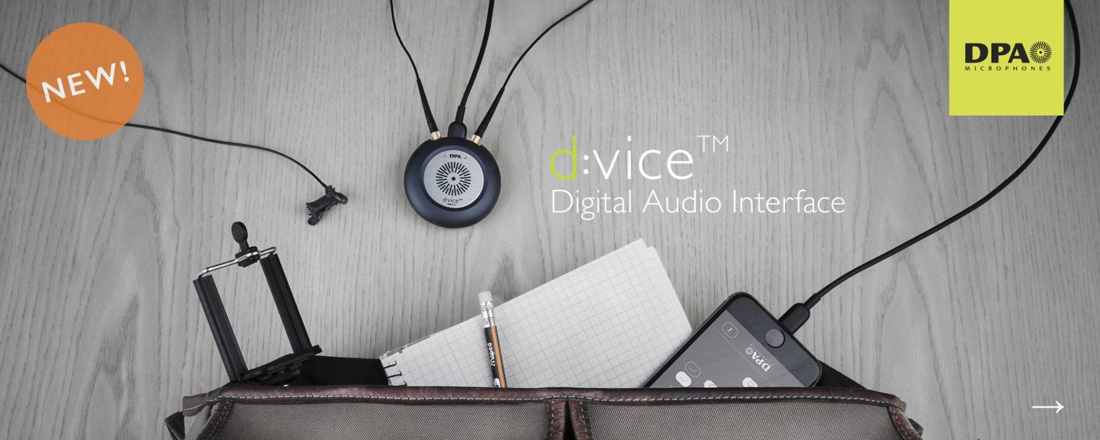 DPA d:vice™ Digital Audio Interface