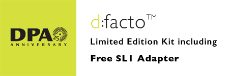 d:facto™ Limited Edition Kit with Free SL1 Adapter