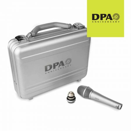 DPA d:facto 25th Anniversary Nickel with Free SL1 Adapter and Aluminium Flightcase