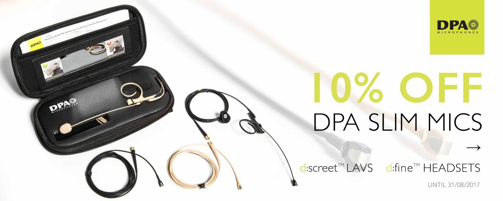 DPA 10% off Slims