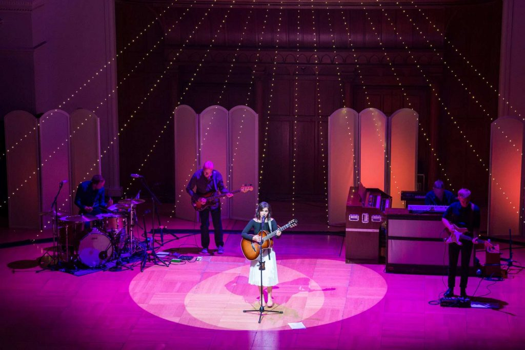 Katie Melua and her band at Cadogan Hall